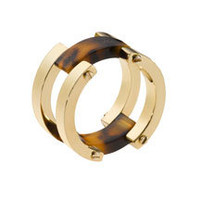 Michael Kors Link Ring, Golden/Tortoise - Michael Kors