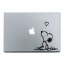 Amazon.com: Snoopy Love MacBook Decal Mac Apple skin sticker: Everything Else