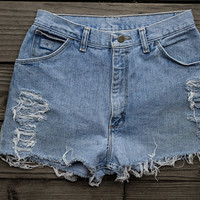 Wrangler for Women High Waisted Shorts