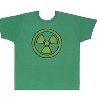 Incredible Hulk Radiation Logo Adult T-Shirt