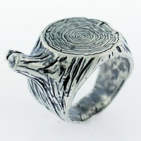 Catbird::shop by category::JEWELRY::Rings::Tree Trunk Ring