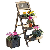 "One Kings Lane - In the Garden - 43"" Produce Stand w/ Chalkboard"