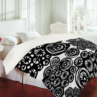 DENY Designs Home Accessories | Julia Da Rocha Circo Doodles Duvet Cover