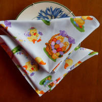 Easter Day Table Napkins - Easter Sunday Tablelinen