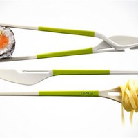 TWIN ONE CUTLERY | BY LEKUE / Buy it now - Playwho.com