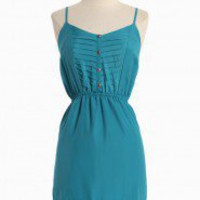 Spring Time Dress In Blue | Modern Vintage Dresses