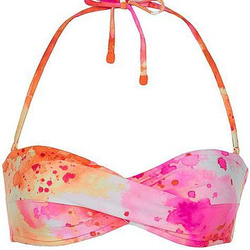 Oakley Fluid Tie Dye Swimwear Top - Women's Swimwear | Buckle