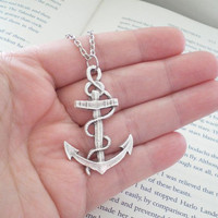 Big Anchor Necklace