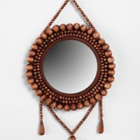 Beaded Wall Mirror