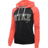 Nike Women&#x27;s Cotton Fleece Full Zip Hoodie
