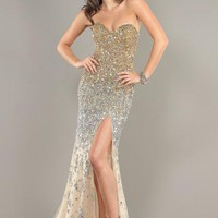 Jovani 1650 Dress at Peaches Boutique