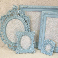 Shabby Chic Picture Frames Ornate Frame by MountainCoveAntiques