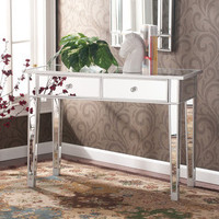Dalton Mirrored Accent Table | Overstock.com