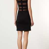 Mesh And Bandage Bodycon Dress - Dresses - Clothing - Topshop USA