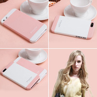two color mix impact case for iphone5