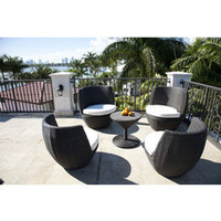 ideeli | LIBERTY OUTDOOR 5-Piece Tibet Dining Set