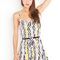 Fruit Stripe Romper in  Sale Bottoms at Nasty Gal