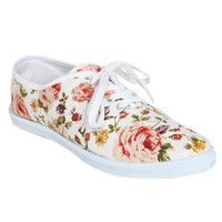 Floral Tennis Shoe | Shop New Romantics at Wet Seal