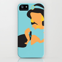 Jasmine - Aladdin iPhone Case by Adrian Mentus