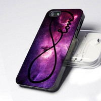 AA0204 Galaxy Nebula Infinity Love design for iPhone 5 case