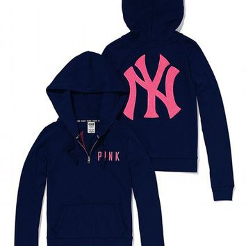 New York Yankees Bling Perfect Full Zip Hoodie