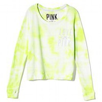 Wide Neck Crew - PINK - Victoria&#x27;s Secret
