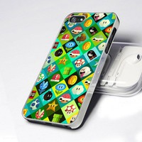 AA0075 Icon Super Mario World Game design for iPhone 5 case