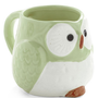 Owl Warm and Cozy Mug in Mint | Mod Retro Vintage Kitchen | ModCloth.com