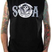 Sons Of Anarchy Muscle Shirt - Reaper SOA
