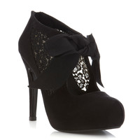 Sally Black Town Shoe - Miss Selfridge