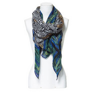 ZEBRA PRINT SCARF - Accessories - TRF - ZARA United States