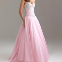 2013 New Hot Sweetheart Tulle A-Line Prom Formal Party Evening Ball Gown Dress