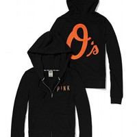 Baltimore Orioles Bling Perfect Full Zip Hoodie