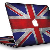 skin macbook pro British flag glaubenskins