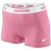 Amazon.com: Pink Fire-White [L] NIKE PRO 2.5&quot; Women&#x27;s DRI-FIT Runner Shorts Large: Sports &amp; Outdoors