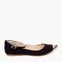 MIA Ashley Tipped Flats $36