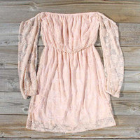 Desert Lace Dress, Sweet Women's Party Dresses