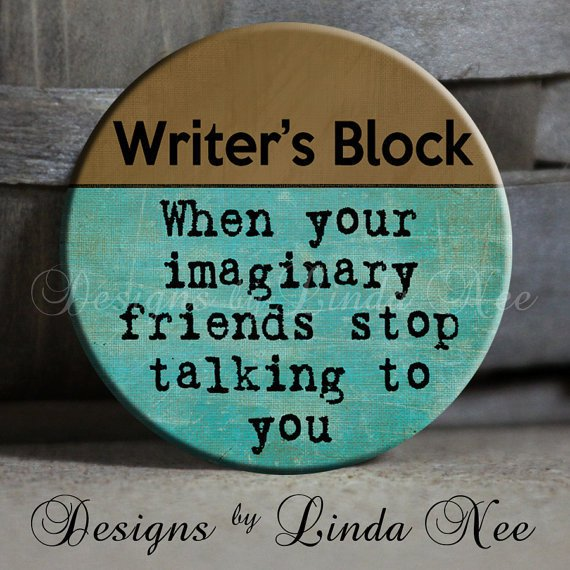 EXCLUSIVE to my Shop Writer&#x27;s Block When by DesignsbyLindaNeeToo