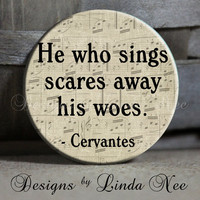 EXCLUSIVE to my shop He who sings scares by DesignsbyLindaNeeToo