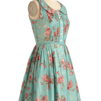 Knitted Dove La Vie en Rosebuds Dress | Mod Retro Vintage Dresses | ModCloth.com