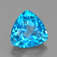 2.85ct Swiss Blue Topaz from Brazil
