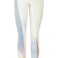 Rag &amp; bone|Goetz printed mid-rise skinny jeans|NET-A-PORTER.COM