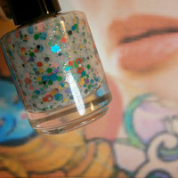 Inked Dolls Tattoo Nail Polish - Free Spirit Naked Skin - Full Size 15 ml Bottle