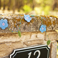 Wedding Garland - French Garden - Made to order