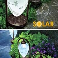 Solar Etched Dragonfly Lights, Solar LED Lights, Garden Light | Solutions