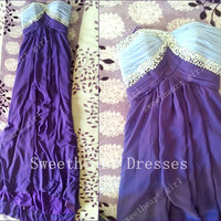 Multi Colours Elegant Sheath Floor-length Sweetheart Graduation Dresses