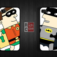 Case iPhone 4 Case iPhone 4s Case iPhone 5 Case idea case movie case parody case batman case robin case cartoon case
