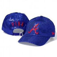 Atlanta Braves Bling Baseball Hat - PINK - Victoria's Secret