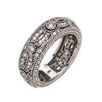 Max &amp; Chloe - Morris &amp; David Pave Pattern Ring - Max and Chloe