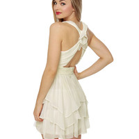 Gorgeous Ivory Dress